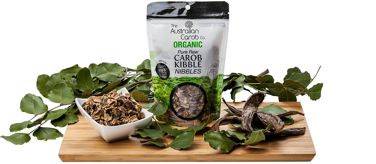 Carob Powder and Carob Buttons from Australia.