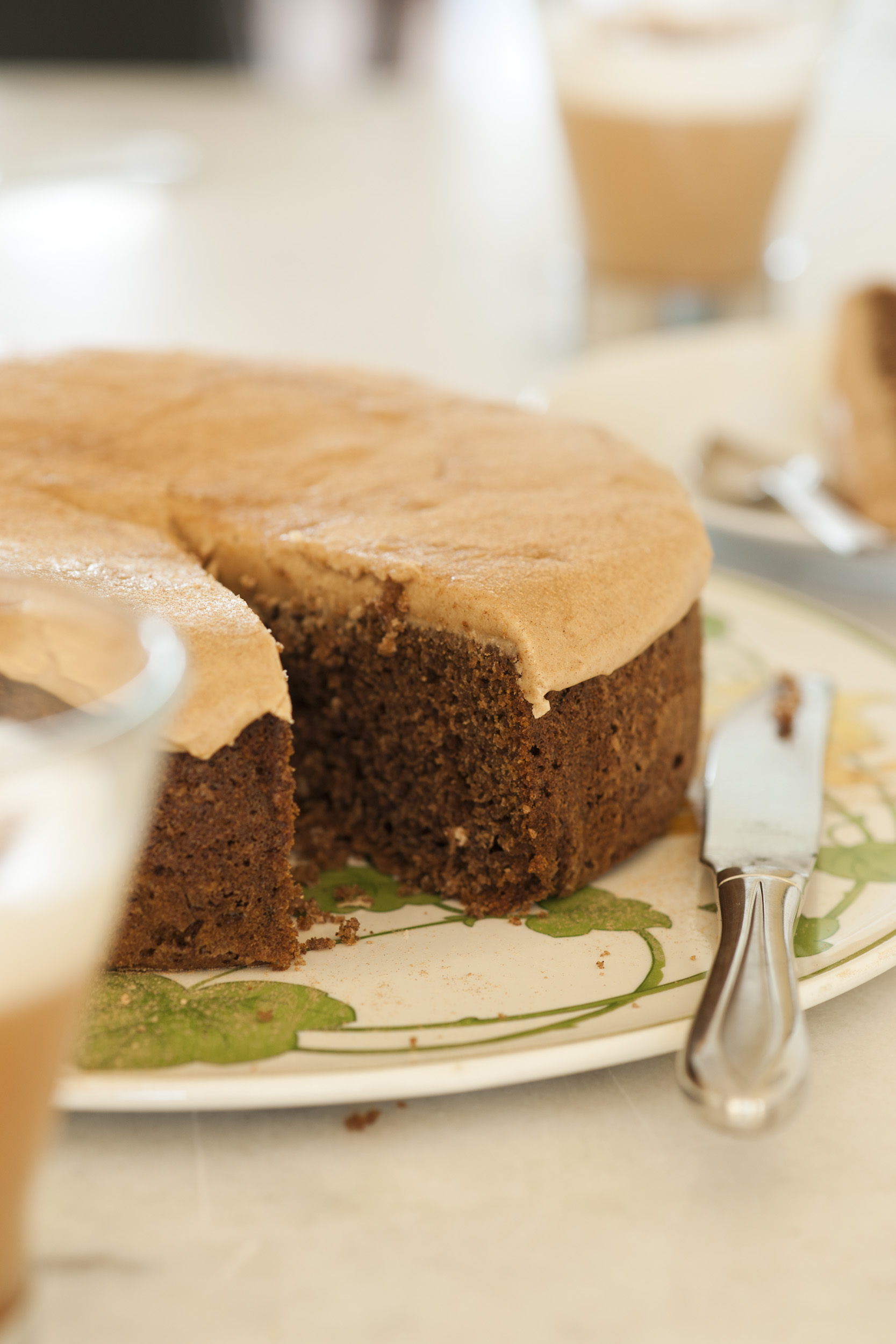Carob Cake with Carob Icing using Australian Carobs