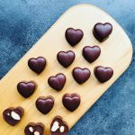 Raw Chocolate and Carob Hearts