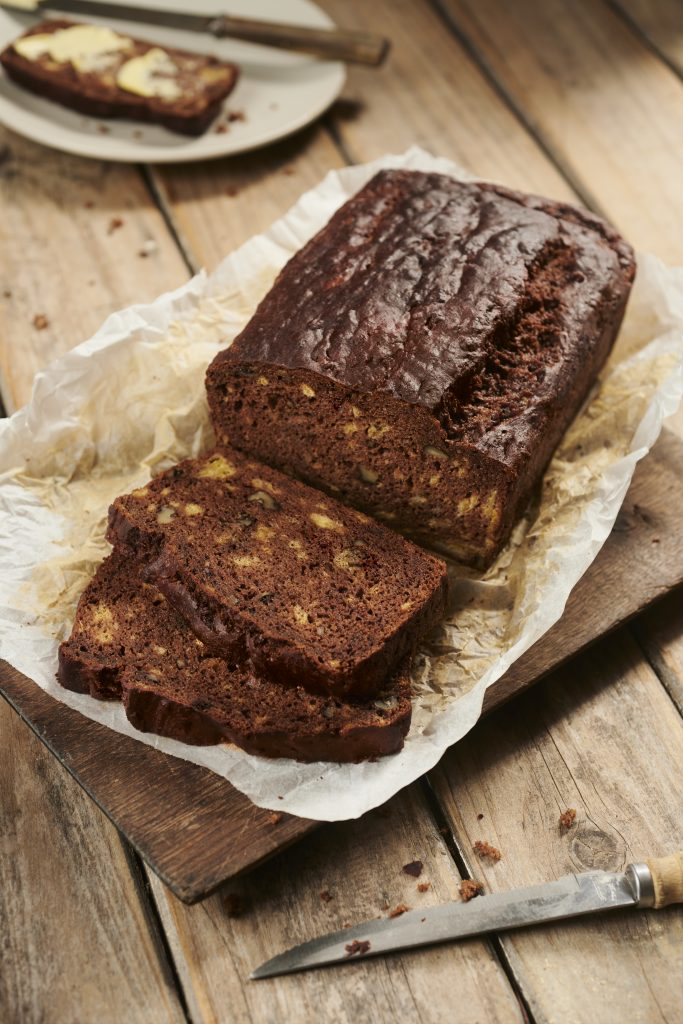Banana, Carob and Walnut Bread Recipe | Australian Carobs