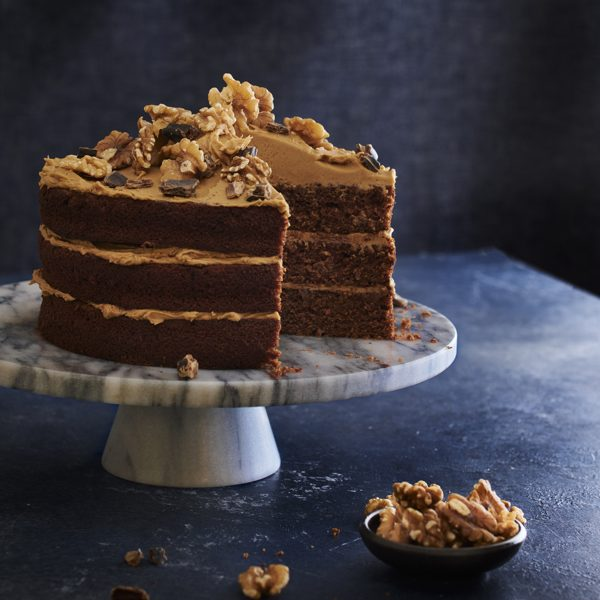 Carob and Coffee Fudge Cake Recipe, Best Carob Recipes | Australian Carobs