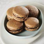 Carob Macarons, Carob Vanilla and Hazelnut French Macarons, Carob Recipes | Australian Carobs