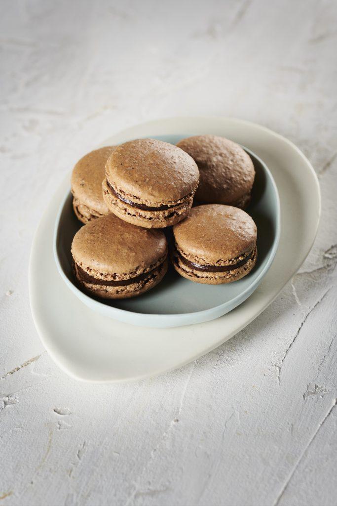 Carob Macarons, Carob Vanilla and Hazelnut Macarons | Australian Carobs