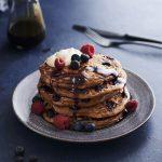 Carob Pancakes, Carob, Blueberry and Buttermilk Pancake, Carob Recipes | Australian Carobs