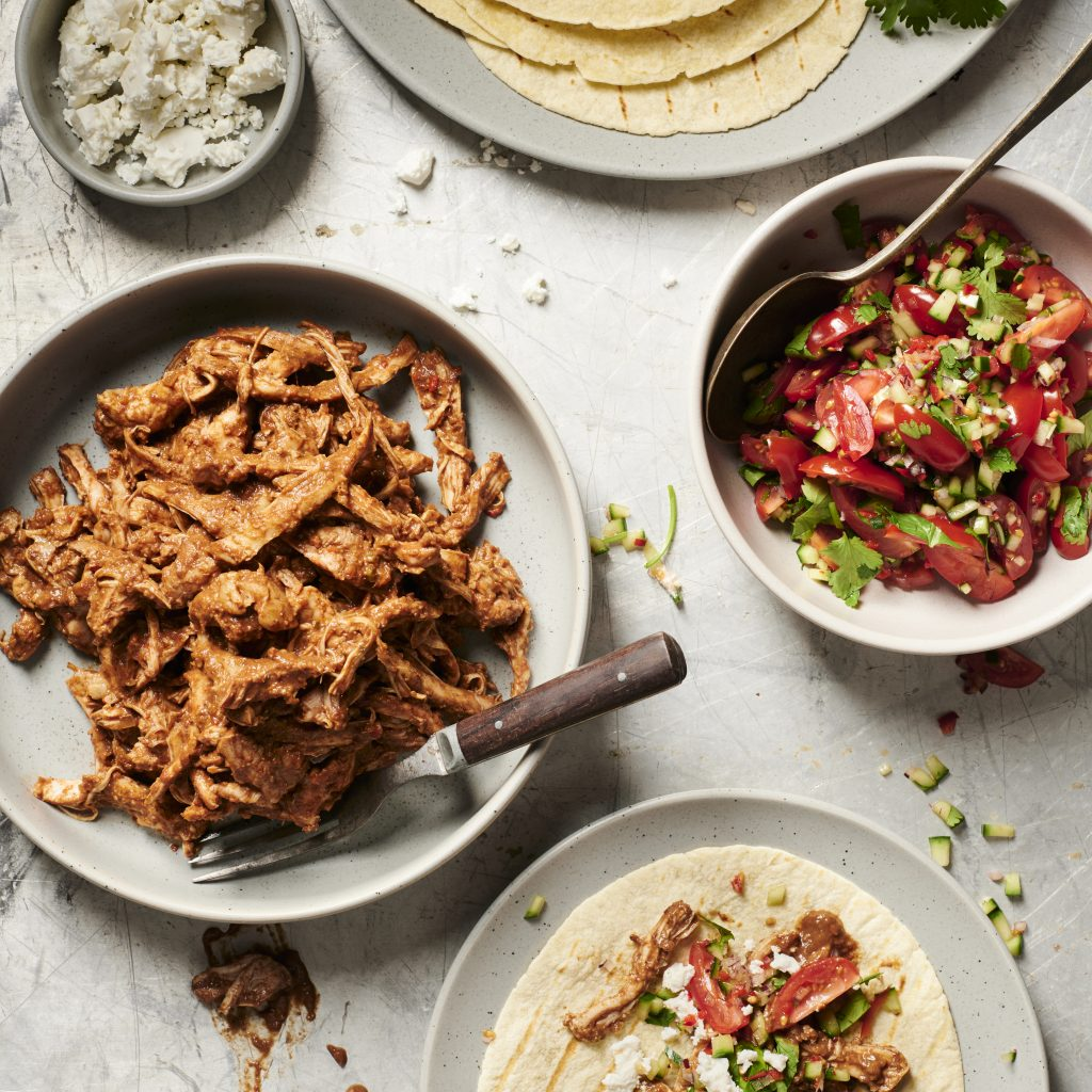 Chicken Carob Tacos, Best Carob Recipes, Cooking with Carobs | Australian Carobs