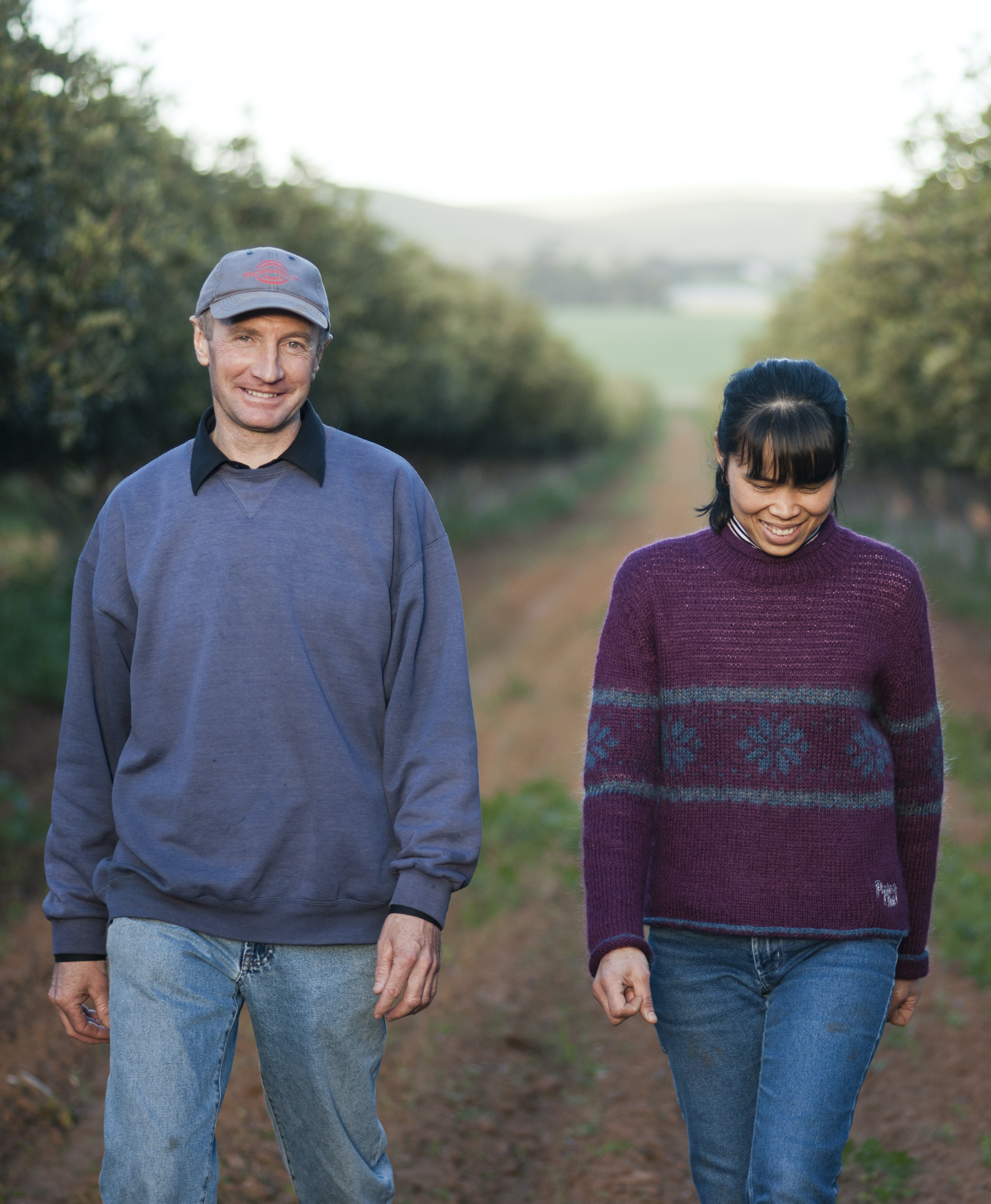 Australian Carob Farmers Michael and Jam Jolley
