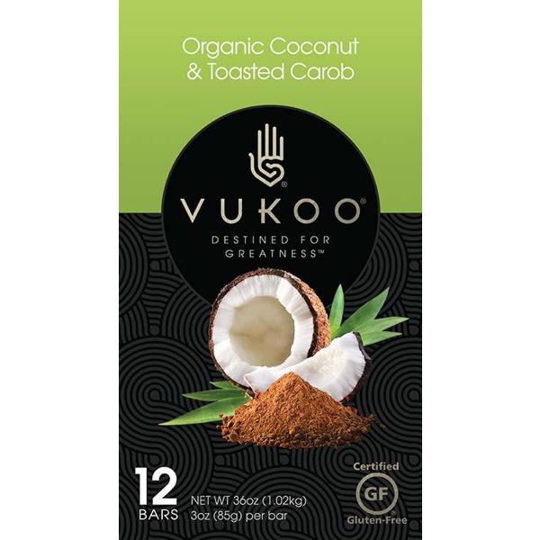 Vukoo Carob Protein Bars, Carob Bars | Australian Carobs