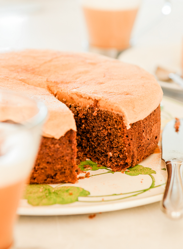 Carob Cake with Carob Icing
