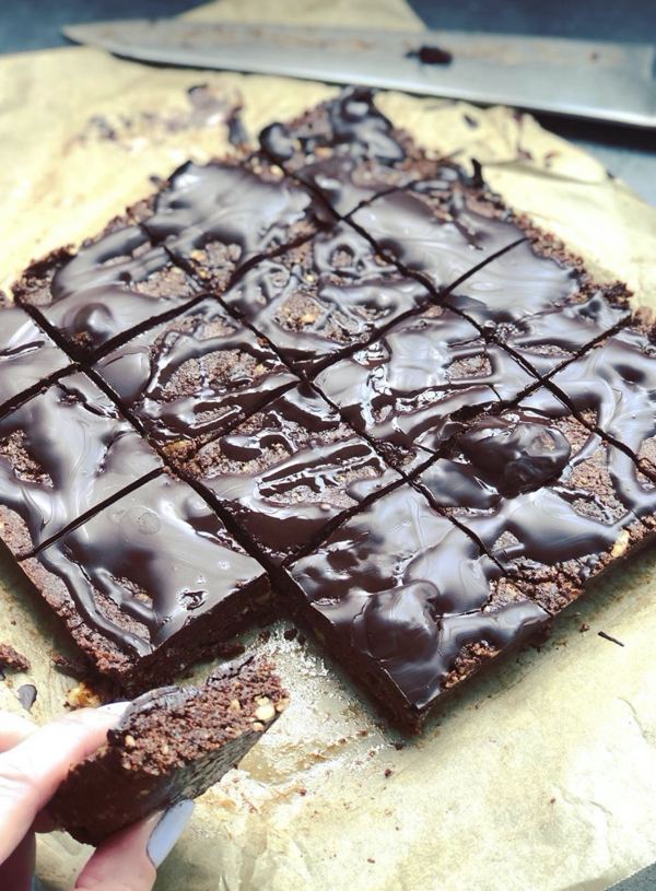 No Bake Carob Walnut Brownies Recipe, Best Carob Recipes | Australian Carobs